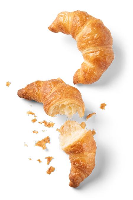 Buttercroissant - Bonnevit Feinbäckerei