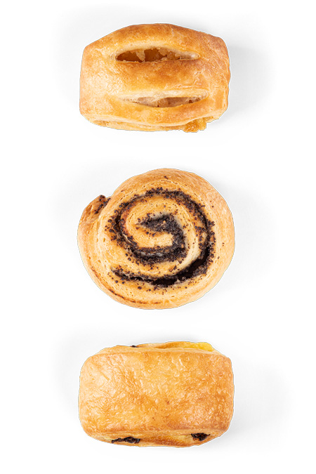 Mini Plunder gemischt 5 - Bonnevit Feinbäckerei