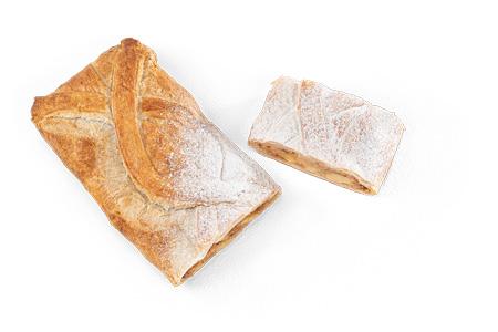 Apfelstrudel mit Blätterteig Margarine - Bonnevit Feinbäckerei
