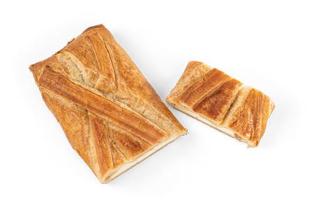 Topfenstrudel mit Margarineblätterteig - Bonnevit Feinbäckerei