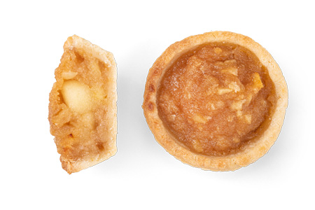 Mini Tarte Apfel - Bonnevit Feinbäckerei
