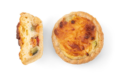 Quiche Gemüse - Bonnevit Feinbäckerei