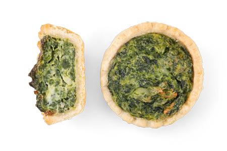 Quiche Spinat - Bonnevit Feinbäckerei