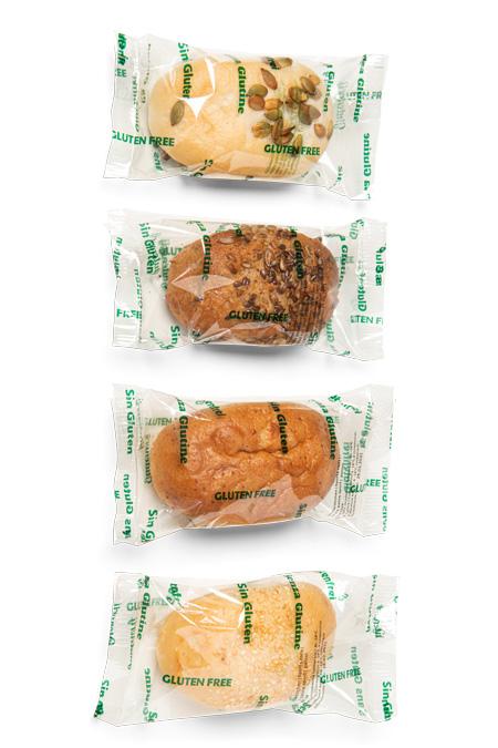 Glutenfreie Brötchen - Bonnevit Feinbäckerei