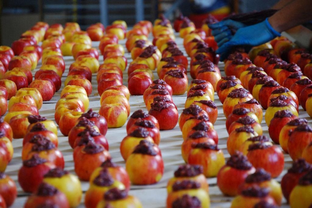 Qualitätsäpfel für unsere Backwaren - Bonnevit Feinbäckerei